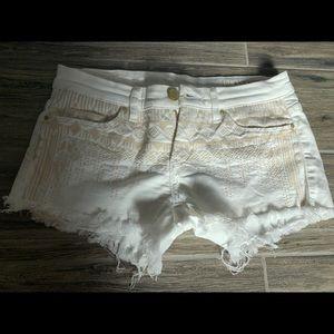 Blank NYC White Shorts